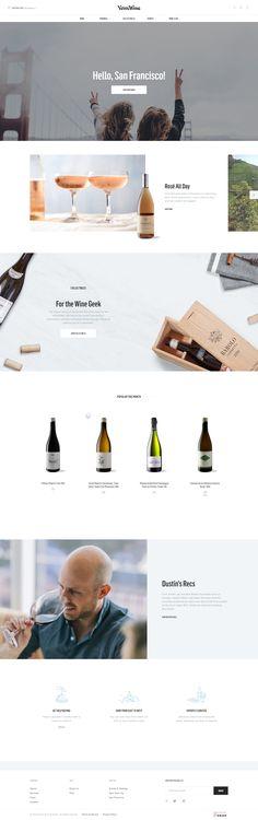 e-commerce wine