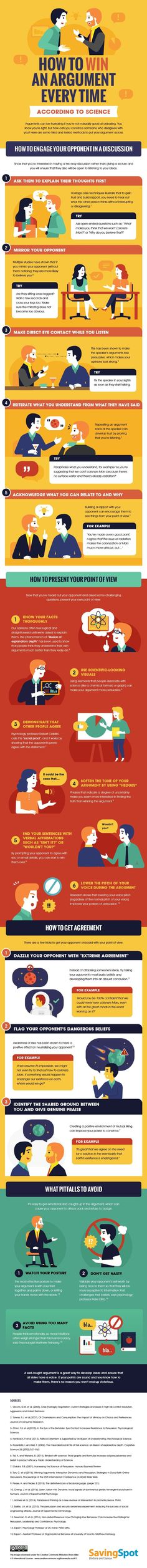 How to win an argument Assertiveness techniques Infographic Life Skills, Life Lessons, It Management, Business Management, Project Management, Pseudo Science, Assertiveness, Simple Life Hacks, Public Speaking