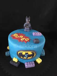 Lego Batman cake Fondant