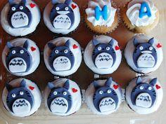 Totoro Cupcakes | par Animated Cupcakes