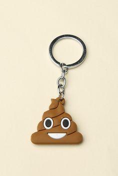 Brandy ♥ Melville   Poop Keychain - Keychains - Accessories