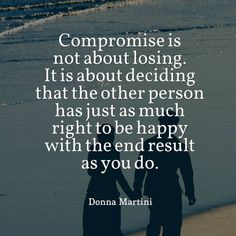 COMPROMISE. Positive motivational quotes about happiness, grateful, work, love friends - @mobile9