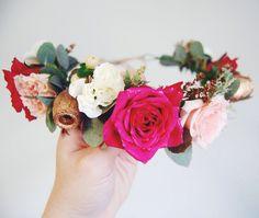 Party flower crown Flower Crown, Party, Flowers, Jewelry, Crown Flower, Floral Crown, Jewlery, Jewerly, Schmuck