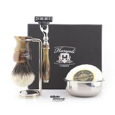 Luxury Shaving Set/Kit In Horn Replica, Best Gift For Men