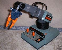 Armatron....pretty sure my uncle had it and rarely let me play with it....