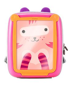 Love this Pink & Orange GoVinci Backpack by BenBat on #zulily! #zulilyfinds