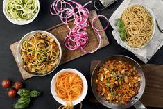 Grønnsakspaghetti