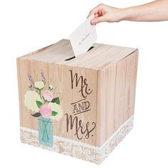 Rustic+Wedding+Card+Box+-+OrientalTrading.com