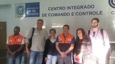 CONSTRUINDO COMUNIDADES RESILIENTES: SEDEC-RJ Recebe Integrantes da D.C. de Salvador