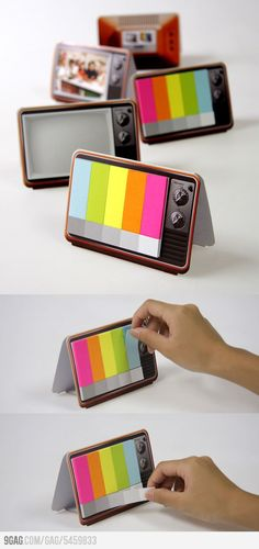 Mini TV Memo Pad