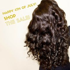 Ciao, Cheers, Peace to the 4th of July Weekend! Be sure to shop our SALE for STOREWIDE discounts and BUNDLE DEALS!  SHOP  SALE >>> www.onychair.com #ONYCBeauty in Body-2-Wavy ™ styled with flexi-rods!  #hairstyles #ONYCHair #hairextensions #hairweaves #blackhair #wavyhair #hairproducts #blackgirlmagic