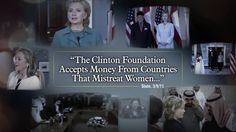 The Clinton Foundation accepts money from countries that mistreat women. Can we really trust Hillary to look out for American women?