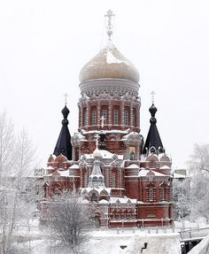 Church of the Epiphany on Gutuevskiy Island in St Petersburg, Russia