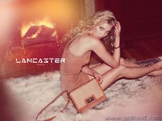 #Swedish #model Elsa Hosk by Guy Aroch for #Lancaster
