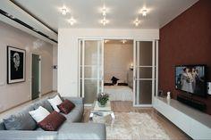 Интерьер и планировка квартиры-студии 18 кв