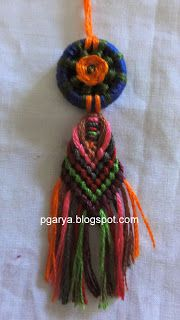 Art & Needlework: Macrame with Dorset Button 2