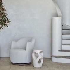 """Coco Republic on Instagram: """"The Cosmo Side Table: A modern accent side table in sculptural stone resin that is guaranteed to be the talking point in any setting its…"""" Cosmos, Resin, Sculpture, Stone, Modern, Table, Furniture, Instagram, Rock"""