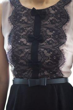 beaded dress - Do it Yourself Clothes Fashion Details, Look Fashion, Diy Fashion, Fashion Design, Diy Clothing, Sewing Clothes, Dress Sewing, Dress Outfits, Fashion Dresses