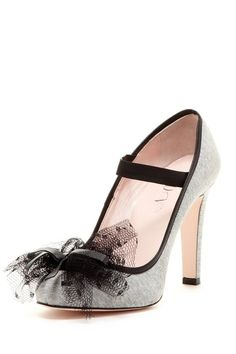 Bow Mary Jane Pumps