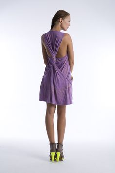 multifunctional jersey dress