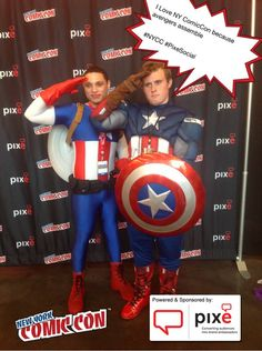 I Love NY ComicCon because avengers assemble #NYCC #PixeSocial
