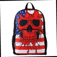 3728e2872e5e Unisex S 3D Skull Backpack Best Kids Backpacks
