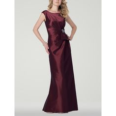 zulily mother of the bride dresses | ... Taffeta Long Burgundy Dresses for 2013 Mother of the Bride h2omc8