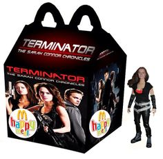 Terminator: The Sarah Connor Chronicles Happy Meal - Cameron Ghost Movies, Horror Movies, Happy Meal Box, Classic Monsters, Movie Poster Art, Horror Art, Adult Humor, Mcdonalds, Halloween Stuff