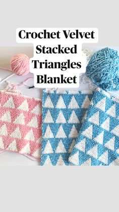 Crochet Crafts, Crochet Yarn, Crochet Stitches, Crochet Projects, Afghan Crochet Patterns, Knitting Patterns, Square Patterns, Filet Crochet, Baby Blanket Crochet