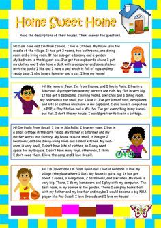 House worksheet - Free ESL printable worksheets made by teachers
