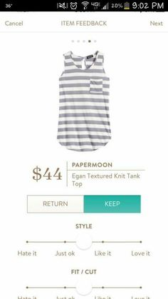 Allison- this tank is really cute! Would be great for spring and summer.