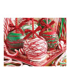 This Apple-icious! 1,000-Piece Jigsaw Puzzle by Springbok Puzzles is perfect! #zulilyfinds
