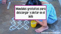 MANDALAS GRATUITOS PARA DESCARGAR Y PINTAR EN EL AULA