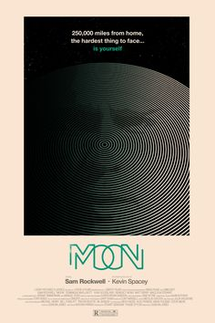 Alamo Drafthouse & Mondo present the Moon SXSW poster from Olly Moss. New Movie Posters, Minimal Movie Posters, Movie Poster Art, New Poster, Film Posters, Cinema Posters, Music Posters, Moon Film, Olly Moss