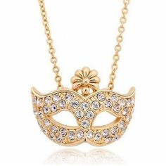 Fox Masks Pendants Necklace-New Style For You