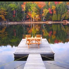Dock at the cottage