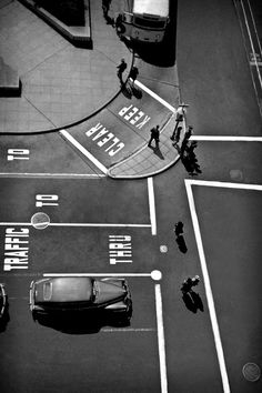 Fred Lyon's Post And Powell Street, Union Square, San Francisco, 1947.