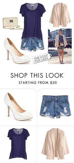 """""""The Look for Less - Denim #1"""" by leiastyle on Polyvore featuring Vintage 55, H&M, LineShow, LookForLess and denim"""