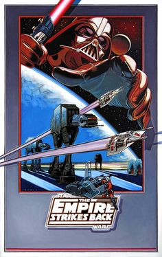 Star Wars: Episode V - The Empire Strikes Back (Concept poster art - version #1) - 1980.