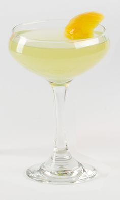 The Last Vow From Stefan Huebner, Heist Brewery 1½ oz. Cardinal Gin ¾ oz. Green Chartreuse ½ oz. simple syrup (equal parts sugar     and water) Juice of half a lemon 2 dashes cherry bitters Shake on ice and strain into a coupe glass. Garnish with lemon twist.