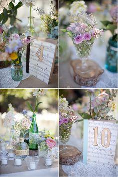 Decoração Vintage - Foto de Weddingchicks.com