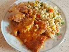 Mennyei Porhanyós, szaftos tarja római tálban sütve recept! Szerettem volna kipróbálni egy olyan tarját családomnak, hogy a szájban szétolvadjon. Hát sikerült! Macaroni And Cheese, Grains, Rice, Chicken, Ethnic Recipes, Food, Mac And Cheese, Essen, Meals