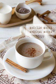 Mexican Mocha Recipe: Tried with just Abuelita hot chocolate...hubby don't like the cayenne pepper in it...I'm sure it has a better taste with actual coffee