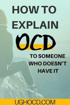 How to explain OCD to someone who doesn't have it. OCD is not the easiest to exp. Mental Health Resources, Mental And Emotional Health, Mental Health Awareness, Ocd Therapy, Therapy Journal, Ocd Facts, Types Of Ocd, Obsessive Compulsive Disorder, Mental Health