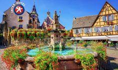 INTER-HOTEL Hostellerie Du Pape à Eguisheim : Escapade gastronomique en Alsace