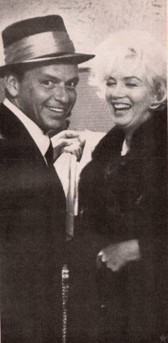 Frank Sinatra and Marilyn Monroe ~~ For more: - ✯ http://www.pinterest.com/PinFantasy/gente-~-frank-sinatra/