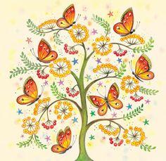 Butterfly Tree ~ Clare Maddicott