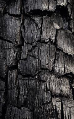 Black 黒 Kuro Nero Noir Preto Ebony Sable Onyx Charcoal Obsidian Jet Raven Color Texture Pattern charcoal Raven Color, Art Texture, Grain Texture, Charred Wood, Estilo Rock, Black Gold Jewelry, Shades Of Black, Natural Texture, Textures Patterns