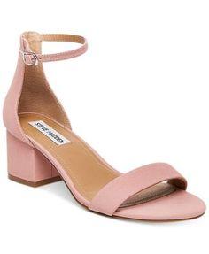 7d922ea9f539a0 STEVE MADDEN Steve Madden Women S Irenee Two-Piece Block-Heel Sandals.   stevemadden