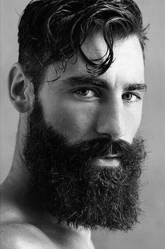 The best beard styles are made with beard balm. Beard and Company's Beard Strength Grooming Kit includes formulated beard balm and oil that strengthens and fortifies facial hair, preventing flakes and dry, itchy skin. Grow A Thicker Beard, Thick Beard, Great Beards, Awesome Beards, Best Beard Styles, Hair And Beard Styles, Hairy Men, Bearded Men, Bart Tattoo